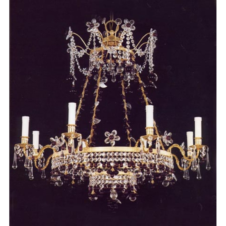 Russian Gilt Chandelier
