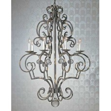 Cardena Collection Iron Chandelier