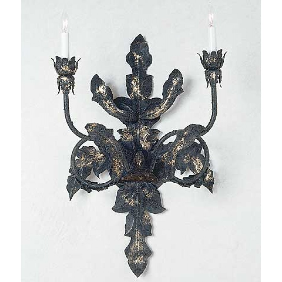 Cardena Collection Iron Sconce