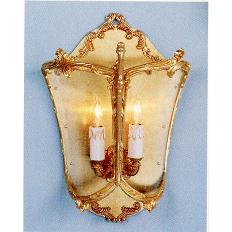 Bronze Pocket Lantern Wall Sconce