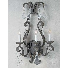 Cardena Collection Iron Wall Sconce