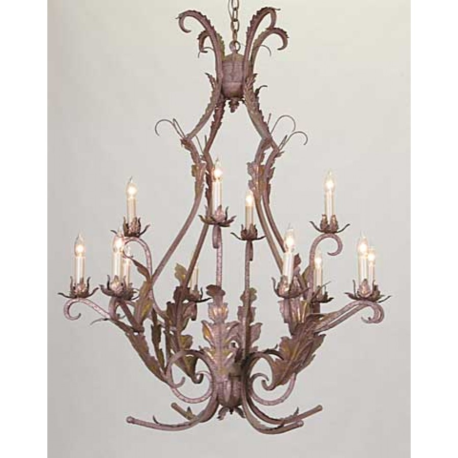 Iron Chandelier Frame Only
