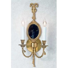 Georgian Wall Sconce with Mirror