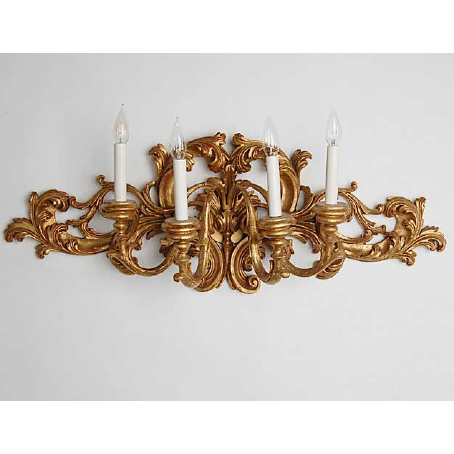 4 Light Sconce 17th Century