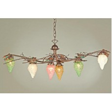 Iron Grape Chandelier