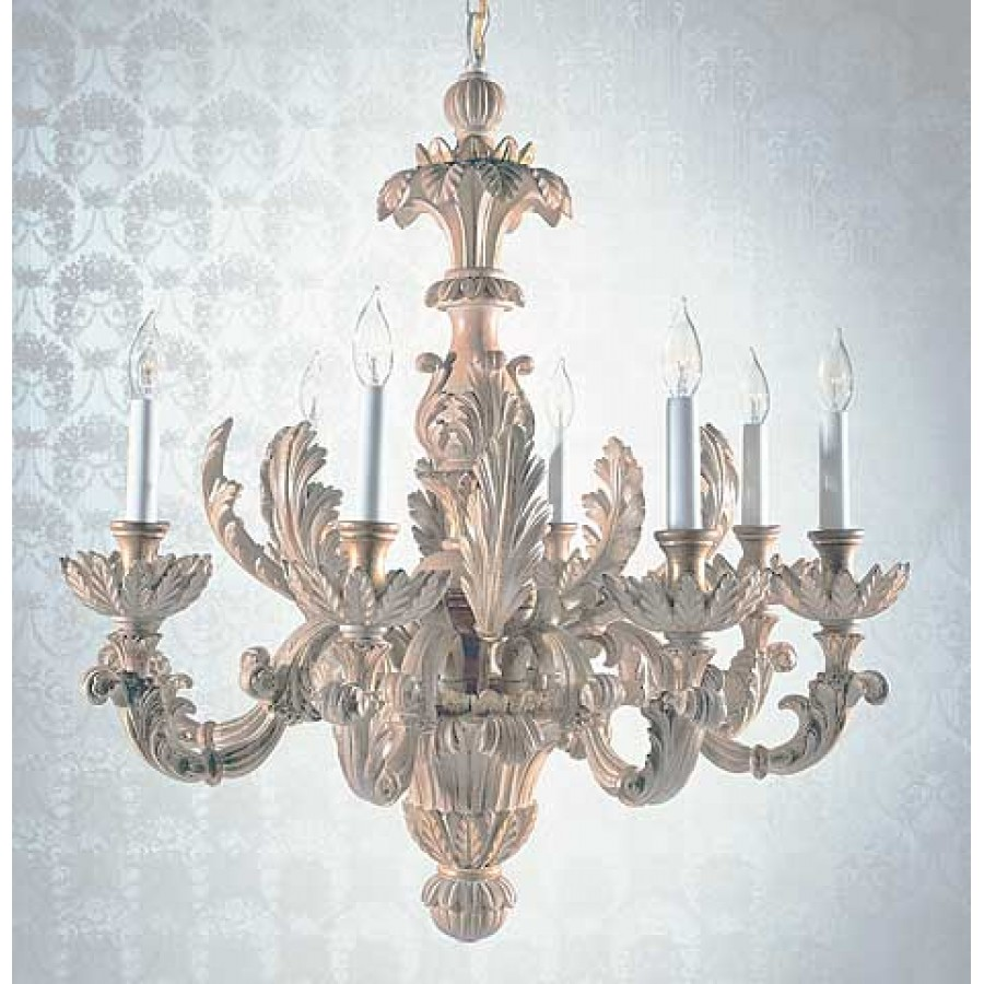 Carved Wood Chandelier XVII Century