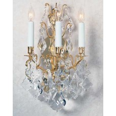 Versailles Wall Sconce with Swarovski Strass