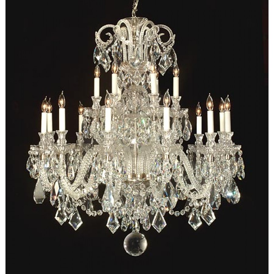 Georgian Crystal Chandelier