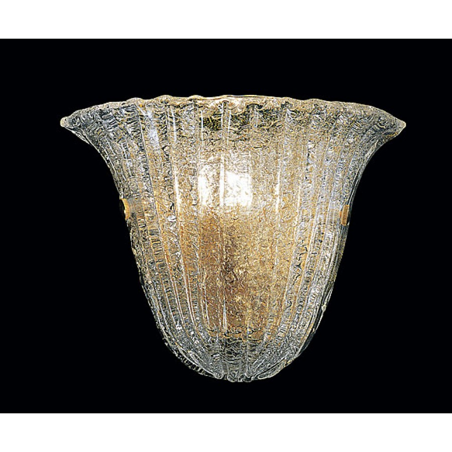 Contemporary Glass Wall Sconce