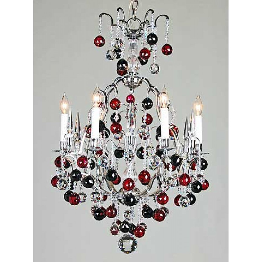 Multi-Color Strass Chandelier