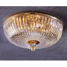 Cut Crystal Flush Mount