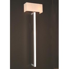 Contemporary Chrome Wall Sconce