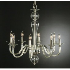 Williamsburg Clear Glass Chandelier