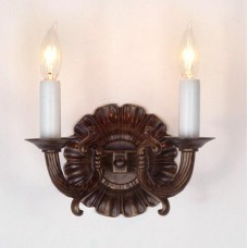 Sandcast Bronze Wall Sconce