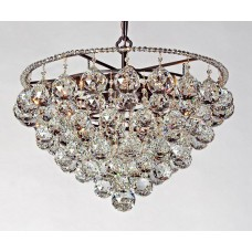 Bronze Semi-Flush Fixture