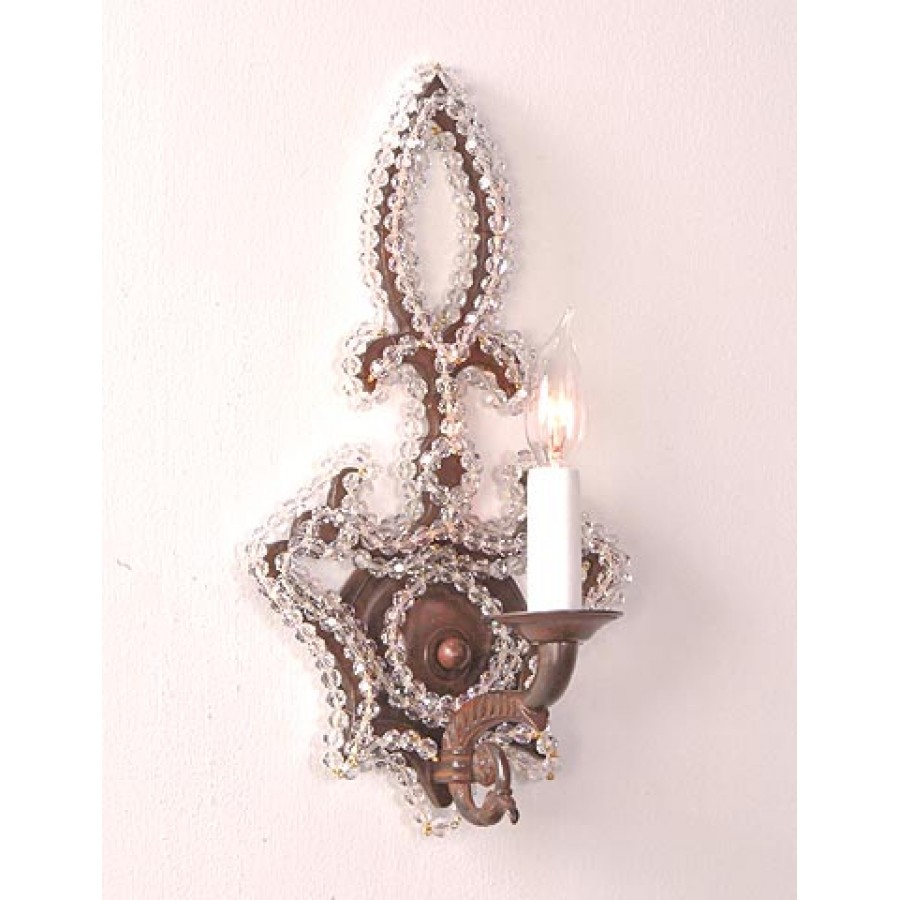 Sand Cast Bronze Wall Sconce