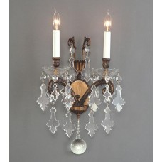 Wall Sconce with Crystal