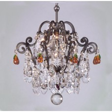 Versailles Semi-Flush Fruit Chandelier