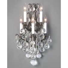 Versailles Wall Sconce with Crystal