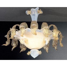 Semi-Flush Venetian Chandelier