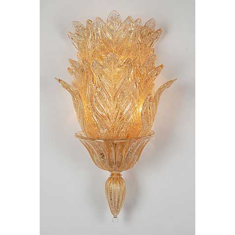 Murano Glass Wall Sconce
