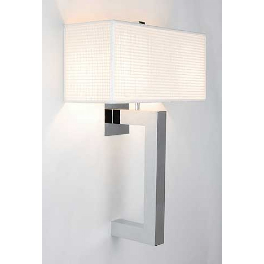 Contemporary Wall Sconce with Shade