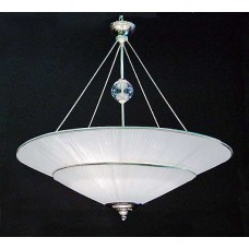 Pleated Silk Shade Pendant