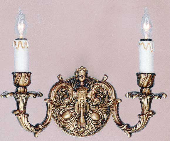 Bronze sconces bronze caryatid wall sconce mozeypictures Gallery