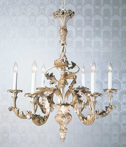 Wood chandeliers florentine carved wood chandelier mozeypictures Gallery