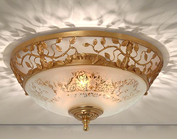 Bronze ceiling lamps bronze dore flush mount mozeypictures Gallery
