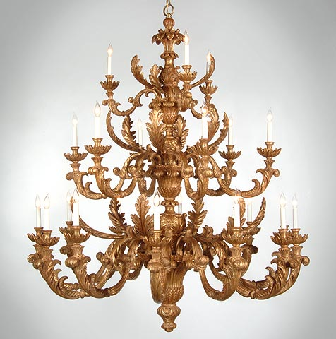 Wood chandeliers carved wood chandelier mozeypictures Gallery