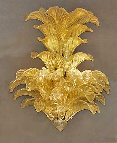 Murano murano glass wall sconce mozeypictures Gallery